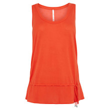 Picture of an orange sleeveless top