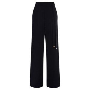 Coast Megan Wide Leg Trousers, Black, £89