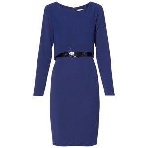 Sequin waist dress