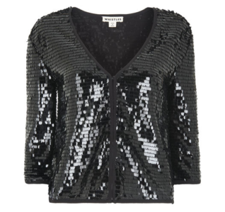 Whistles Sequin Jacket Reduced to £104.25