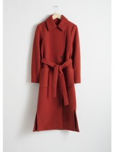 & OTHER STORIES Belted Wool Coat £169