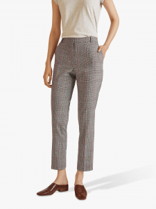 Autumn style: Jigsaw Prince of Wales Check Trousers, Grey £140.00