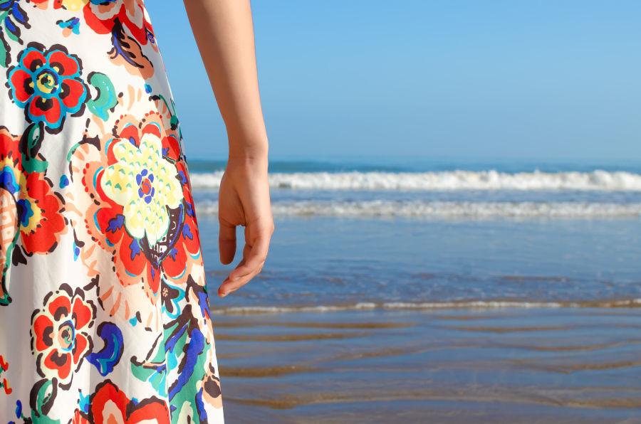 Summer dress - Fabrics for summer